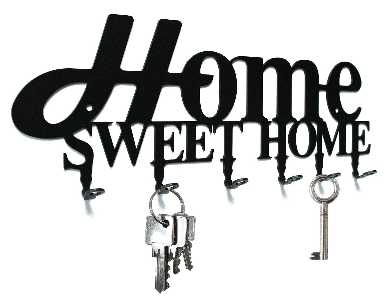 Schl sselbretter im wandtattoo design home sweet home for Home sweet home designs