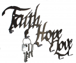 Faith Hope Love Schlüsselbrett